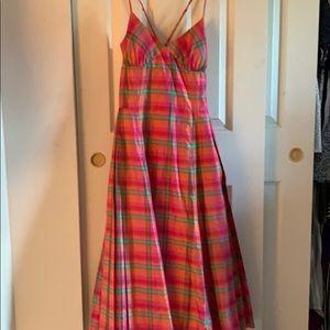Cross Strap Dress, Size 6